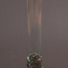 Szőlős mintájú ón váza