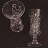 Jageres pohár rajzos mintával