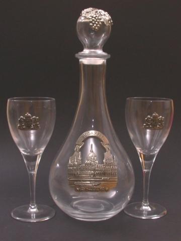 Ón - üveg Budapest boros készlet