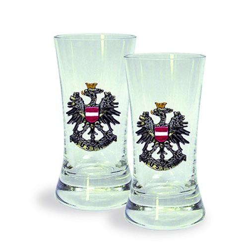 Image of 2 Shot Glasses - Austria
