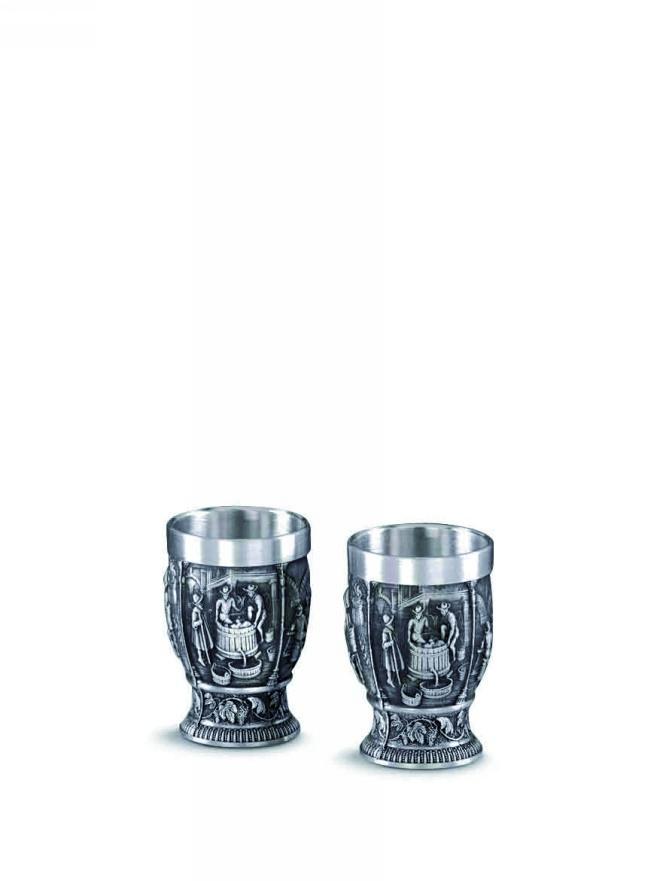 2 pálinkás pohár - Weinlese