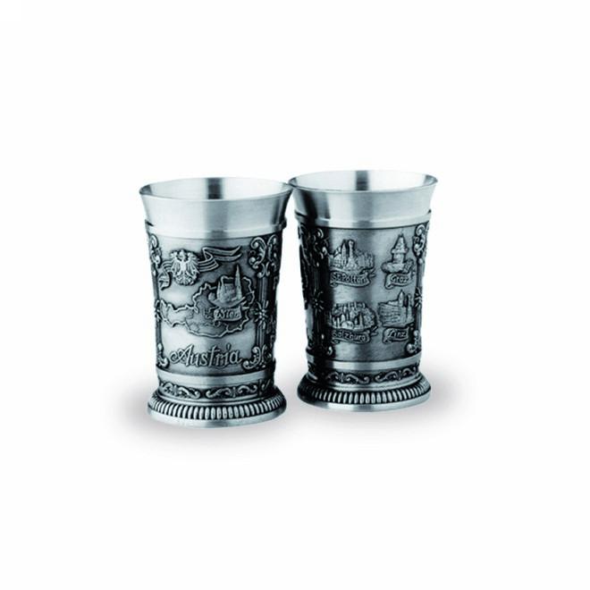 2 Shot Glasses - Austria